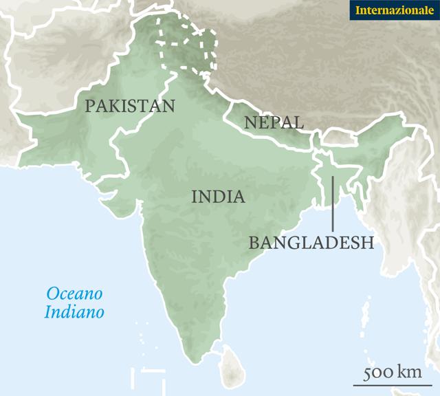 Cartina India Pakistan.I Cinquant Anni Del Bangladesh Tra Successi Economici E Disastri Politici Internazionale