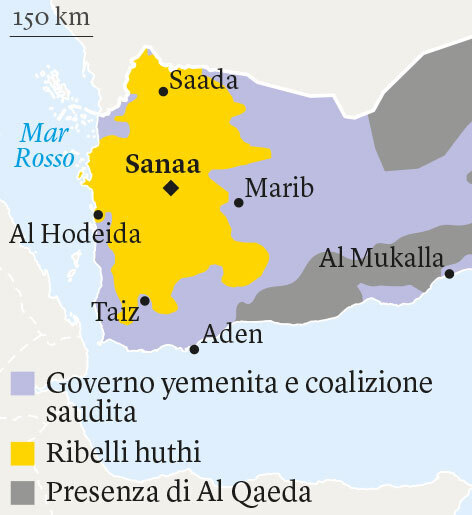 Cartina Yemen.Una Via D Uscita Dalla Guerra Nello Yemen Madawi Al Rasheed Internazionale