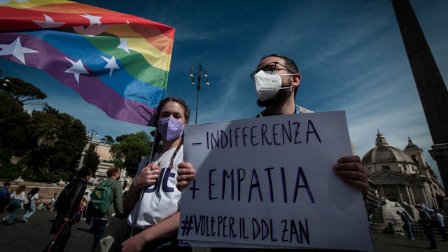 Il tatticismo politico frena le leggi sui diritti civili in Italia...